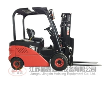Car type electric forklift